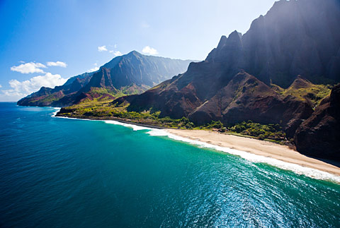 Küste von Napali Credit: Hawaii Tourism Authority