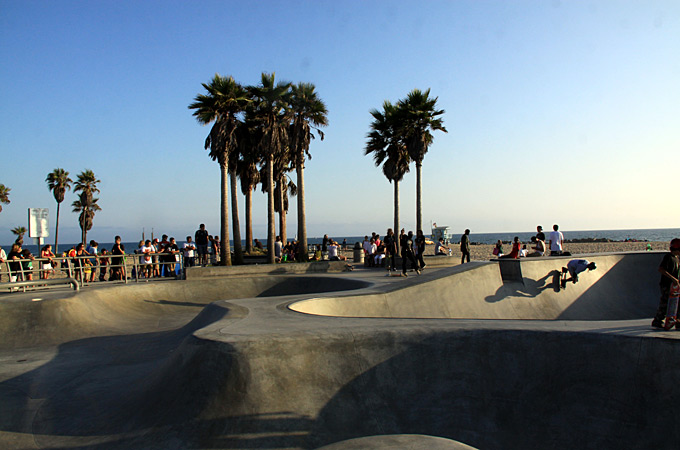 Venice Beach, Los Angeles, California - Credit: Dirk Büttner