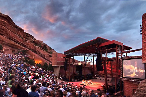 Red Rocks Park, Denver - Credits: Steve Crecelius, VISIT Denver