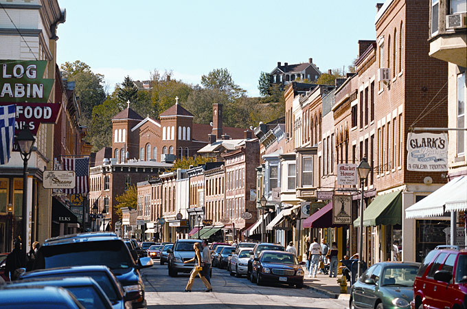 Shopping Street, Galena - Credit: Robert Keeling