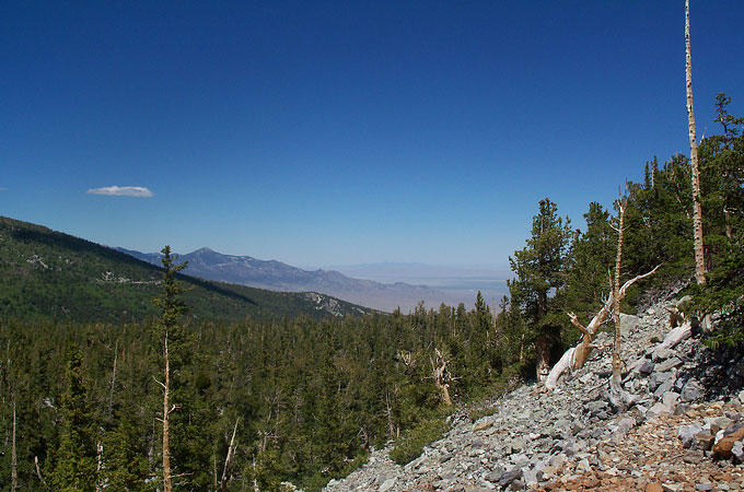 Great Basin National Park - View from Bristlecone Interpretive Trail © TravelNevada