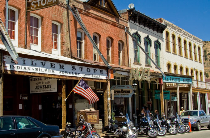 Virginia City - Downtown © TravelNevada