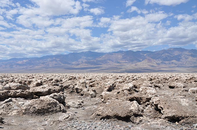 Death Valley - Devil's Golf Course © TravelNevada