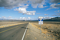 Highway 50 - The Loneliest Road in America © TravelNevada
