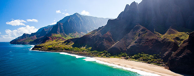 Küste von Na Pali Coast, Kauai, Hawaii - Credit: Hawaii Tourism Authority