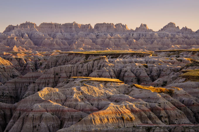 Badlands National Park, South Dakota - Credit: Rocky Mountain International