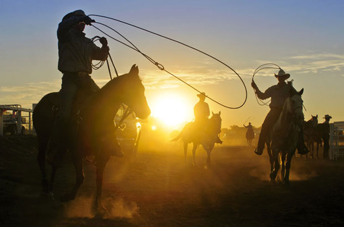 Rodeo in South Dakota - Credit: Rocky Mountain International