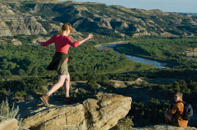 Theodore Roosevelt National Park, North Dakota - Credit: North Dakota Tourism/Dan Koeck