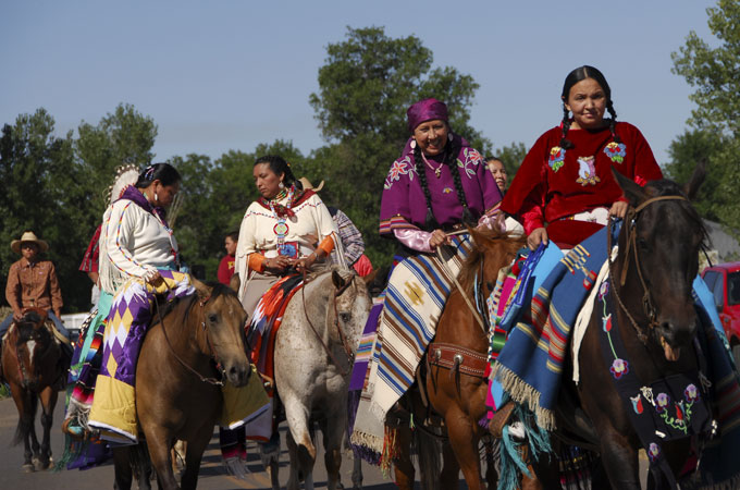Crow Fair in Crow Agency, Montana - Credit: Donnie Sexton