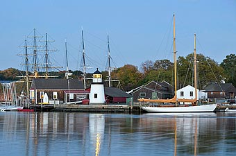 Mystic, Connecticut - Credit: Connecticut Commission on Culture and Tourism (CCCT)