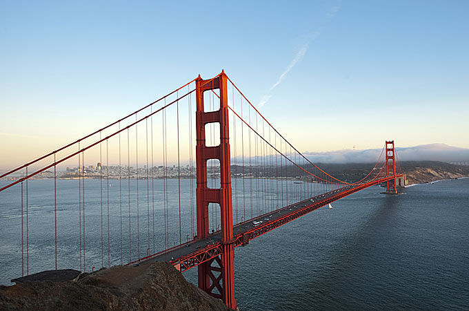Golden Gate Bridge, San Francisco, California - Credit: California Travel and Tourism