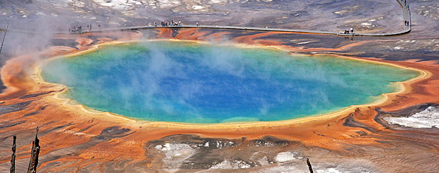 Grand Prismatic Spring, Yellowstone National Park, Wyoming - Credit: Wyoming Office of Tourism