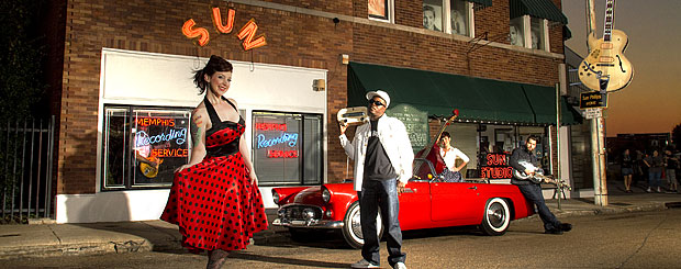 Sun Studio in Memphis, Tennessee - Credit: Tennessee Tourism