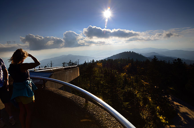 Clingman Dome, Great Smoky Mountains, Credit Tennessee Tourism