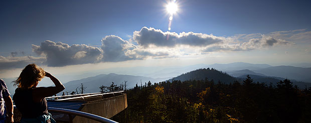 Clingman Dome, Great Smoky Mountains National Park, Tennessee - Credit: Tennessee Tourism