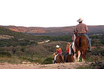 Ausritt auf der Dixie Dude Ranch, Texas - Credit: Dixie Dude Ranch