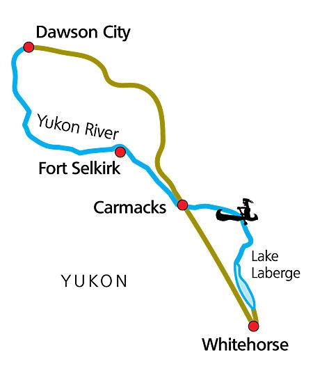 Karte zu The Classic - Yukon River gesamt