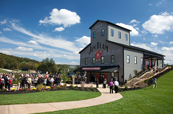 Jim Beam American Stillhouse, Clermont, Kentucky - Credit: Kentucky Department of Travel and Tourism