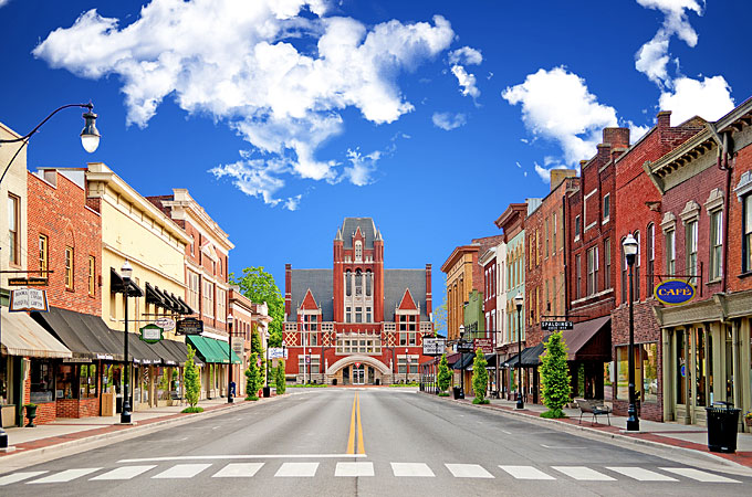 Bardstown, Kentucky - Credit: Kentucky Department of Tourism and Travel