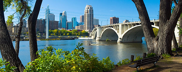 Mississppi River in Minneapolis, Minnesota - Credit: Meet Minneapolis Convention & Visitors Associaton