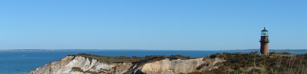 MA/Cape Cod/Aquinnah Clay Cliffs Hintergrund
