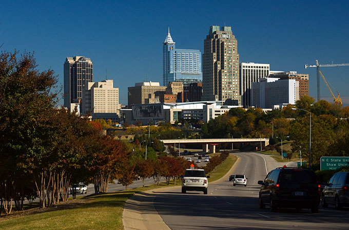 Skyline, Raleigh, North Carolina - Credit: VisitNC.com, Bill Russ