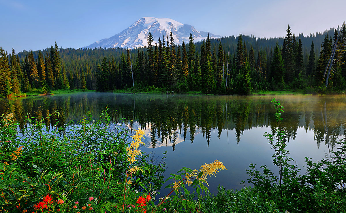 Mount Ranier, Washington - Credit: Visit Seattle