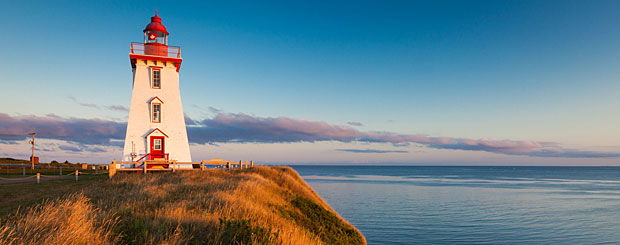 Souris Harbour Lighthouse, Prince Edward Island - Credit: Tourism PEI, John Sylvester