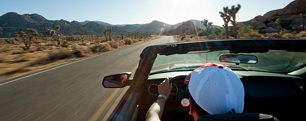 CA/Joshua Tree National Park/Cabrio/Titel 2