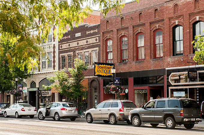Main Street, Bozeman, Montana - Credit: Montana Office of Tourism, Donnie Sexton