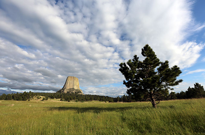 Devil's Tower, Wyoming - Credit: Wyoming Office of Tourism