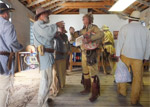 Mountain Man Rendezvous, Fort Bridger - Credit: Fort Bridger Rendezvous Association