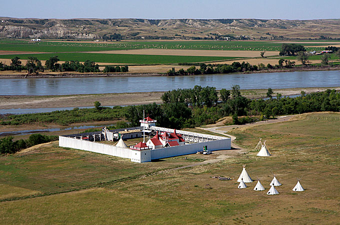 Fort Union, Williston, North Dakota - Credit: North Dakota Tourism Division