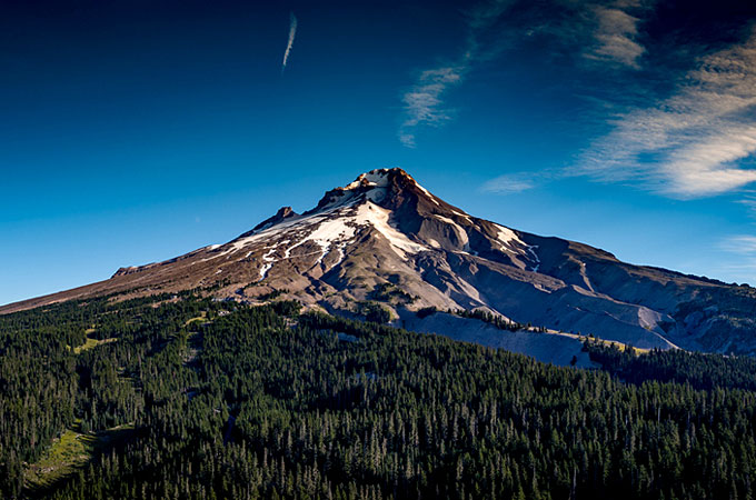 Mount Hood, Oregon - Credit: Travel Oregon, Dronescape