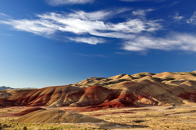 Painted Hills, John Day Fossil Beds National Monument, Oregon - Credit: Travel Oregon, Christian Heeb