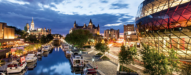 Ottawa, Ontario - Credit: © Ontario Tourism Marketing Partnership Corporation,  Destination Canada