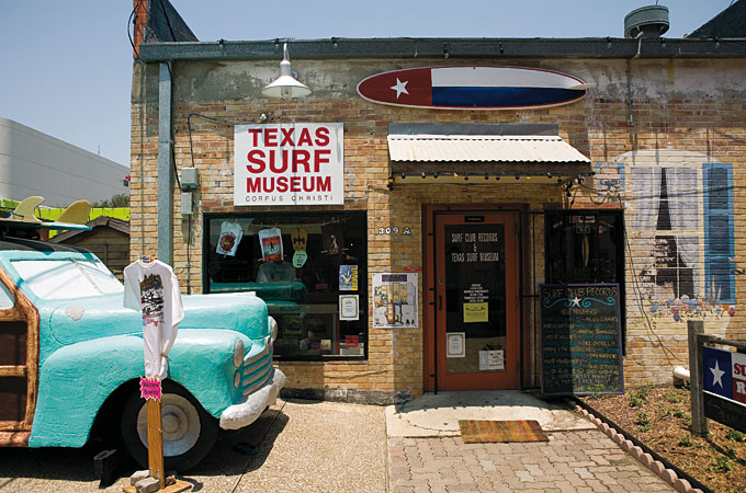 Texas Surf Museum, Corpus Christi, Texas - Credit: Texas Tourism, Kenny Braun