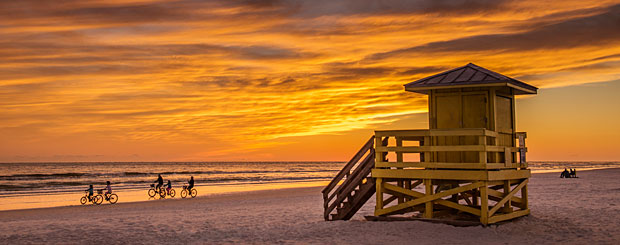Siesta Key, Sarasota County, Florida - Credit: Visit Sarasota County, Heather Young