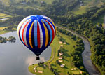 Hot Air Balloon, Craft & Music Festival, Quechee, Vermont - Credit: Hartford Area Chamber of Commerce