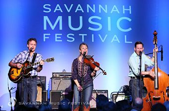 Hot Club of Cowtown, Savannah Music Festival, Savannah, Georgia - Credit: Savannah Music Festival