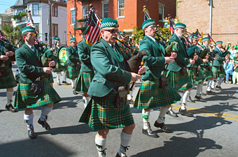 Savannah St. Patrick's Day Parade, Savannah, Georgia - Credit: Georgia Department of Economic Development