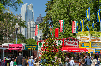 Atlanta Dogwood Festival, Atlanta, Georgia - Credit: Georgia Department of Economic Development, Ralph Daniel Photography, Inc.