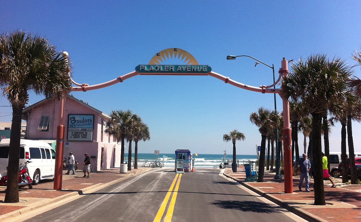 Flagler Avenue, New Smyrna Beach, Florida - Credit: New Smyrna Beach