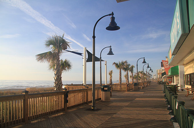 Boardwalk, Myrtle Beach, South Carolina - Credit: South Carolina Tourism Office