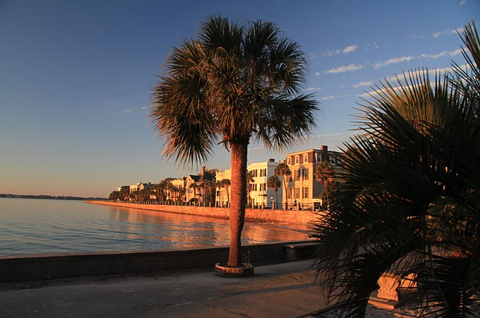 Battery, Charleston, South Carolina - Credit: South Carolina Tourism Office