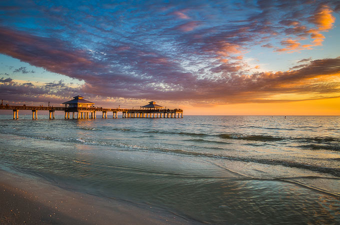 Fishing Pier, Fort Myers Beach, Florida - Credit: The Beaches of Fort Myers & Sanibel