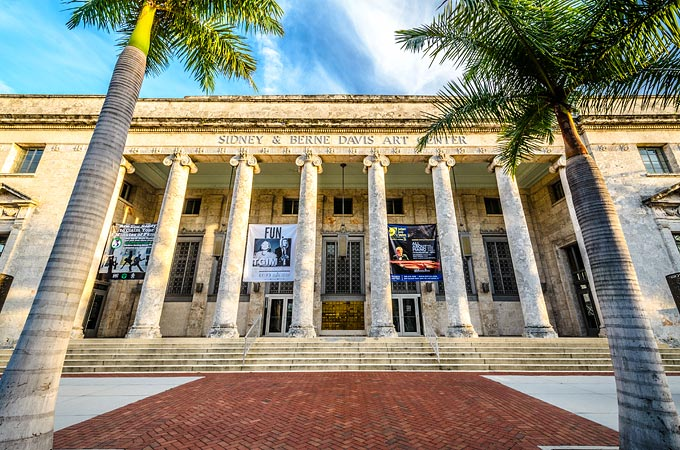 Sidney & Berne Davis Art Center, Fort Myers, Florida - Credit: The Beaches of Fort Myers & Sanibel