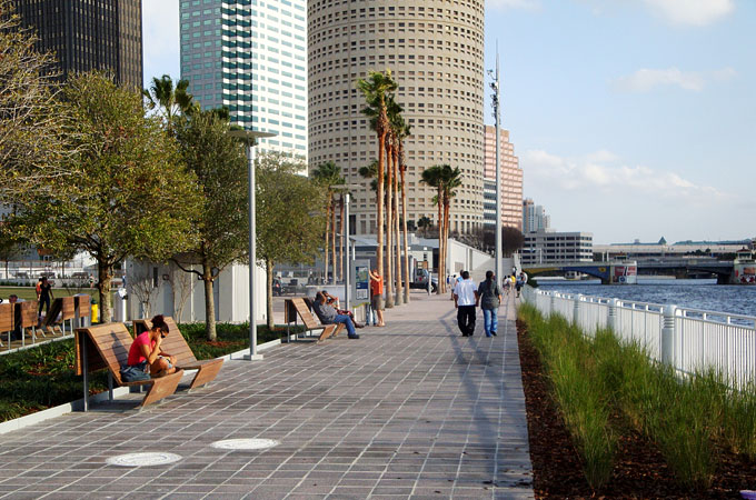 Riverwalk, Tampa, Florida - Credit: Visit Tampa Bay
