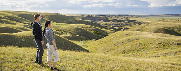 Grasslands N. P., Saskatchewan - Credit: Tourism Saskatchewan und Chris Hendrickson
