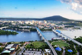 Chattanooga, Tennessee - Credit: Chattanooga CVB